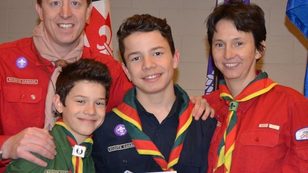 Northern Lights Council - Scouts Canada Scouter Awards 2016