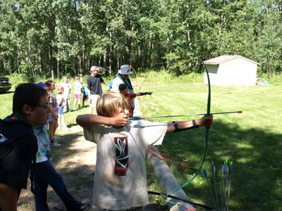Northern Lights Council - Scouts Canada Camp Woods Archery