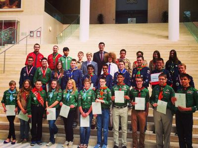 Northern Lights Council - Scouts Canada Youth Awards 2014