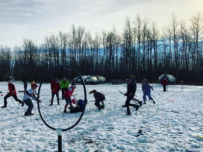 Northern Lights Council - Scouts Canada SquidDitch Winter Activities