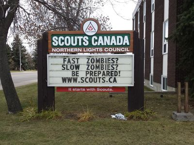 Northern Lights Council - Scouts Canada Zombie-Preparedness