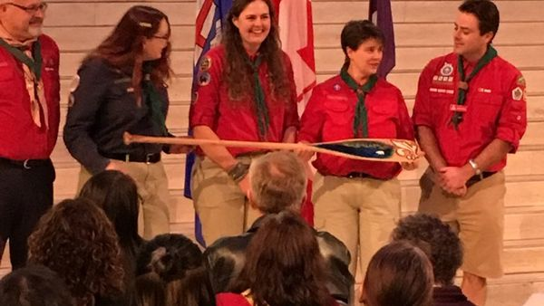 Northern Lights Council - Scouts Canada CYC Award Paddle