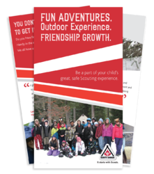 Northern Lights Council - Scouts Canada Volunteer (Non-Parents) Brochure