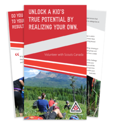 Northern Lights Council - Scouts Canada Volunteer (Parents) Brochure