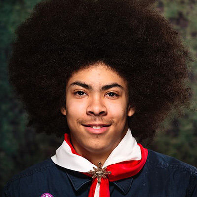 Taelon Schuppli-Connolly Council Youth Commissioner Northern Lights Council - Scouts Canada